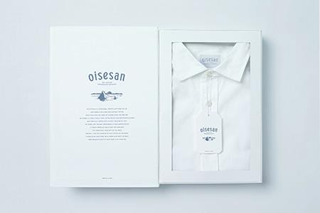 014 oisesan white shirt(オイセサン)伊勢木綿の白シャツ