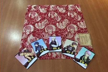 0514「赤目 滝メン」セット(西陣織風呂敷)