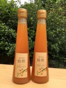 MK‐01 「前川次郎」を使用した飲む柿酢