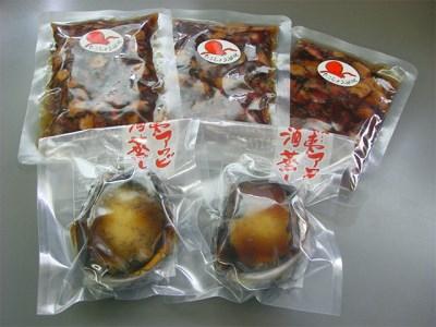 [A30-015]蝦夷アワビ&たこ丼