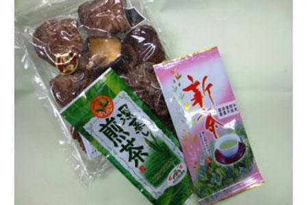 MO01 おおだい森の恵みBセット(大台茶・乾燥椎茸)