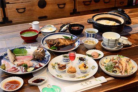 【A23】旬の地元食材おまかせコース 食事券1名