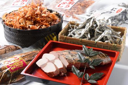 【A44】自然食品の元祖鰹生節セット