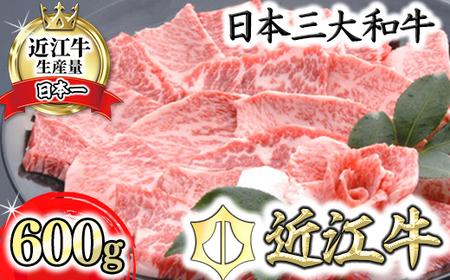 【4等級以上の未経産牝牛限定】近江牛カルビ焼肉【600g】【AF11SM】