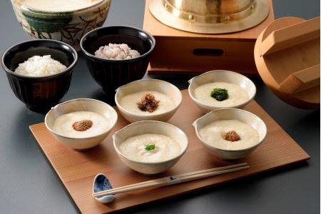 老舗料亭の味を自宅で楽しむ 料亭の五色麦とろ御膳<下鴨茶寮>