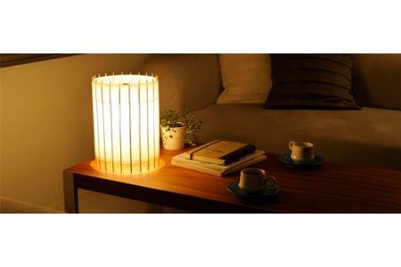 自立式テーブルスタンド照明 和紙の色【白茶色】