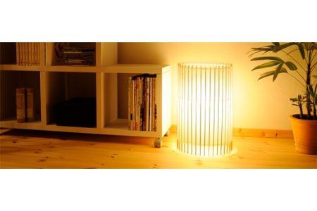 自立式スタンド照明 和紙の色【白茶色】