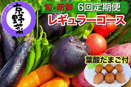 【定期便】旬の京野菜 毎月お届けレギュラーコース(全6回)※沖縄・離島・諸島へのお届け不可◆