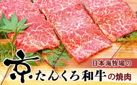 京たんくろ和牛の焼肉 京丹後市 500g 500g(2~3人前)
