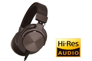 [№5811-0041]ハイレゾリューション・オーディオ対応 オーバーヘッド型ヘッドホン型番: MXH-MD5000