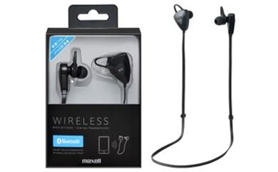 [№5811-0047]Bluetooth対応のワイヤレスヘッドホン「MXH-BTS500BK」