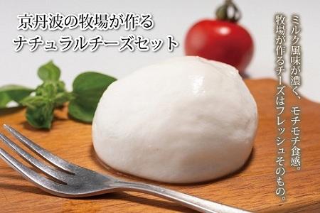 京丹波の牧場が作るナチュラルチーズセット [010MS001]