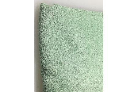 【2628-0418】脱脂タオルケット シングル グリーン