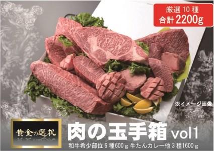 D079 肉コンシェルジュ厳選!肉の玉手箱VOL.1