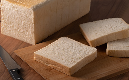無添加特上生クリーム食パン35cm×2本【05003】