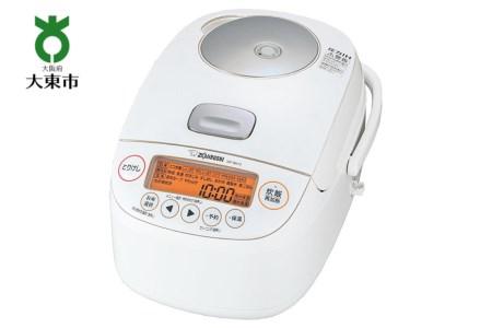 象印圧力IH炊飯ジャー「極め炊き」NPBK10-WA 5.5合炊き ホワイト