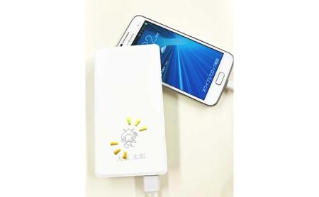 ワイヤレスフラットバッテリーSD 6000円mAh[Qi対応]