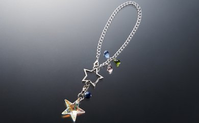 [№5696-3207]星の輝き「流星群バックチヤーム」