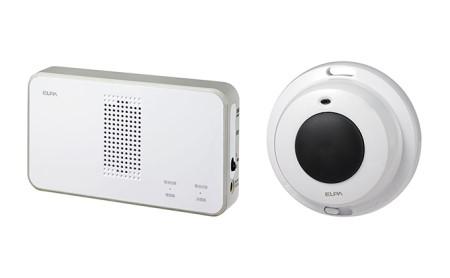 ワイヤレスチャイム(防水押しボタン&受信機)