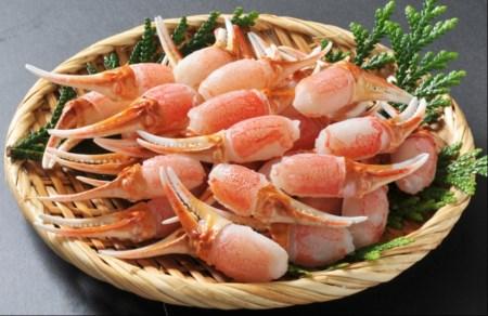 【9】生ずわい蟹 カニ爪肉 約1.0kg(約500g×2)_8811
