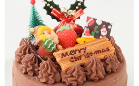 2021 クリスマス ケーキ クリスマス ガナッシュ 5号ホール _0N37