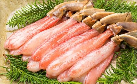 生ズワイ蟹 蟹しゃぶ用棒肉 500g