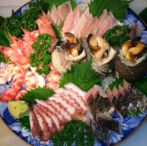 A045*淡路島産天然魚のお造り5点盛セット