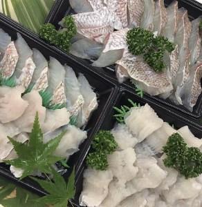 A061*淡路島産天然真鯛と天然鱧のしゃぶしゃぶセット