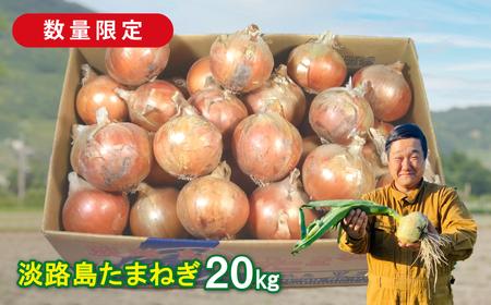 aa28002 【緊急支援品】淡路島たまねぎ20キロ(10kg×2)【発送時期2021年7月中旬~8月頃】
