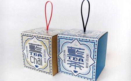 aa02001 おのころ藍の茎茶とチャイブレンドのセット