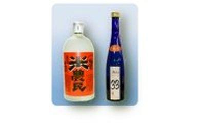 010GA01N.清酒「Misa」+米焼酎「米農民」