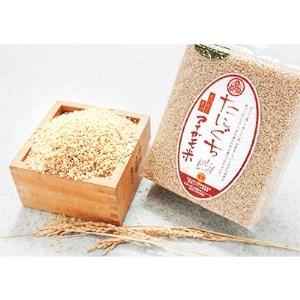 〔令和元年産〕 たにぐちのアイガモ米 玄米 2kg【1049589】
