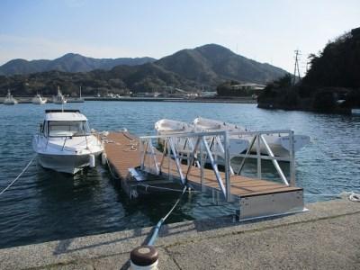 浮桟橋-ukisannbashi-ポンツーン(樹脂ウッド)/マリンスポーツ 係留 オーダーメイド スロープ カスタマイズ ボート 船 クルーザー