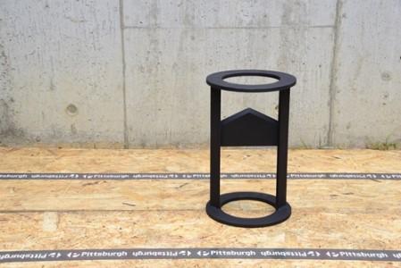 薪割り機 ウッドクラッカー(ブラック)/アウトドアグッズ キャンプ用品 BBQ バーベキュー キャンパー