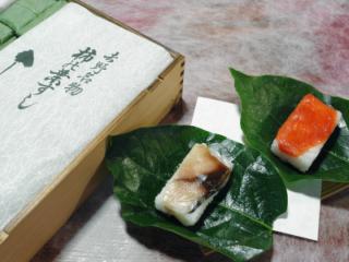 【0401-A19】柿の葉寿司《やっこ》