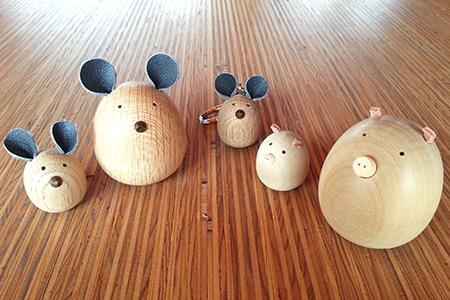 A-3:津別木材工芸舎 木のつべつの木詰め合わせ[137281]