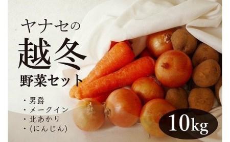 【A010-7】柳瀬産商 越冬野菜セット10kg