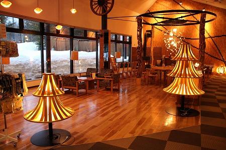 【H085-1】ランプの宿森つべつ ペア宿泊券