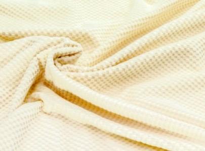 シール綿毛布(市松柄)