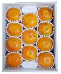 ケーズファーム最高級 冷蔵富有柿(13個、赤秀Lサイズ)