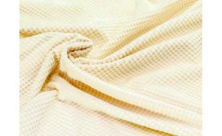 『シール織綿毛布 市松』軽量タイプ