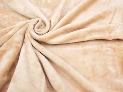 『シール織綿毛布 無地・シングルサイズ』ブルー/アイボリー/ピンク/ベージュ(三和シール工業株式会社)