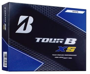 【2612-0086】ゴルフボールTOUR B XS(ツアービーエックスエス)ホワイト