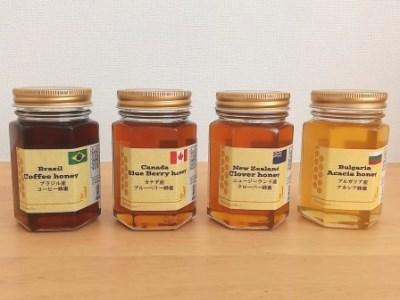 世界のハチミツ4本セット