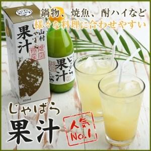 【j-102】じゃばら果汁360ml×2本