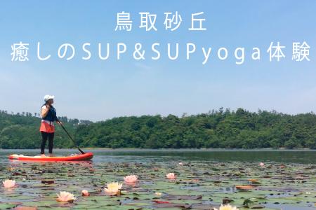 【215】鳥取砂丘・SUP&SUPyoga体験