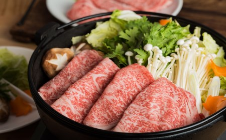 302.鳥取和牛ロースすき焼き