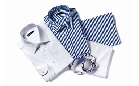 azabu tailor オーダーシャツお仕立券(4)【国産高級コットン100%生地使用】