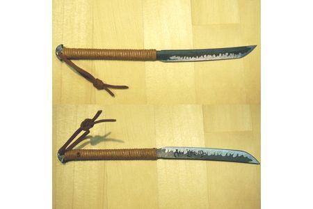 【2615-0005】五寸釘ペーパーナイフ(山鳥毛)