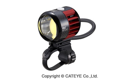 【キャットアイ】小型 軽量 自転車用 ライト VOLT6000